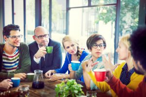 Group of People on Coffee Break Concept